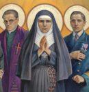 Obraz Błogosławionych Męczenników Gdańskich w naszym kościele